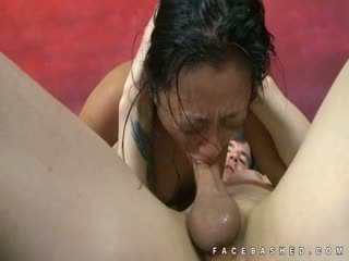 Throat Fucking Of Lucky Starr