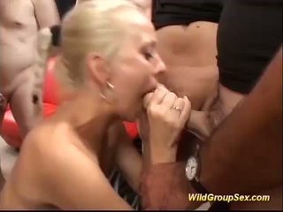 German Gal in a Wild Groupsex Orgy, Free Porn 36