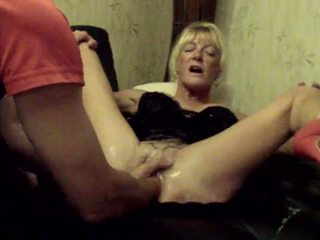 Annabelle Dangel double fisting pussy extrem hole dilation