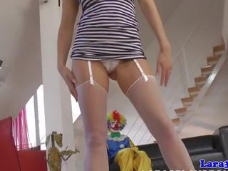 Bizarre British MILF Pussy Fucked by Clown: Free HD Porn b1
