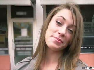 brunette, online blowjob, fun public thumbnail