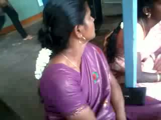 Satin Silk Saree Aunty, Free Indian Porn Video 61
