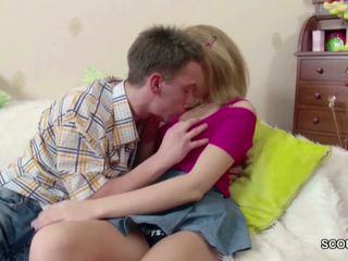 blondjes, groot tieners seks, meer broodmager actie