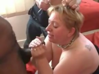 French Mature BBW Annie Blowjob and Fist, Porn 35