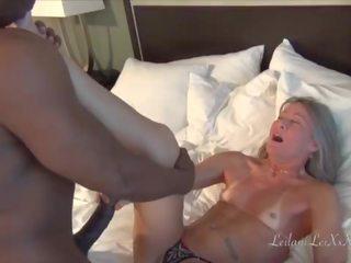 Sex at the Beach - Milf Fucks BBC Lover