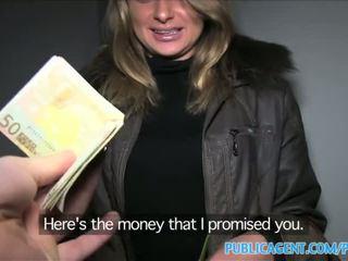 Publicagent loud seks s vroče rusinje bejba