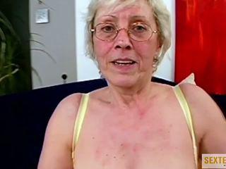 meest grannies scène, oude + young neuken, nominale interraciale