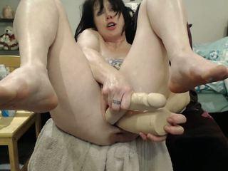 seksspeeltjes, plezier webcams, groot anaal actie
