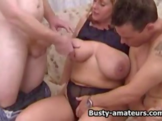 nice threesomes posted, big natural tits, hq threesome scene