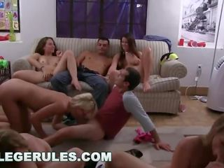 COLLEGERULES - Orgy At The Dorm! (cr10474)