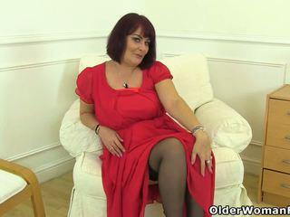 ideal british mov, real grannies, quality matures video