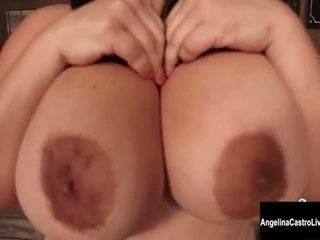 fresco morena completo, todo big boobs diversión, masturbarse