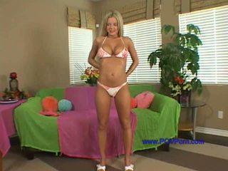 blondynki, ładny masturbacja, najlepsze amator zabawa