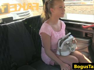 Cocksucking Taxi Czech Fucked on Backseat: Free HD Porn c4