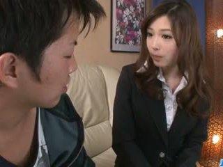 看 口交, 射精 查, 有趣 日本 新