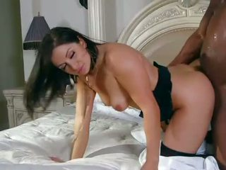 Hot mom gets her hot cunt pounded by black cock