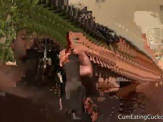 Asia zo ב זרע eating cuckolds