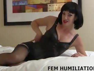 controleren lingerie vid, nominale femdom actie, alle pov klem