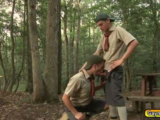 Gay scouts loves cock and anal fuck