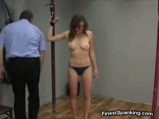 Bound Spread Legged & Flogged