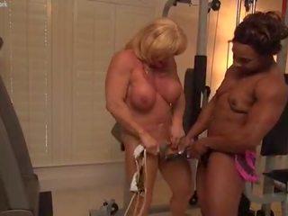 great female bodybuilder film