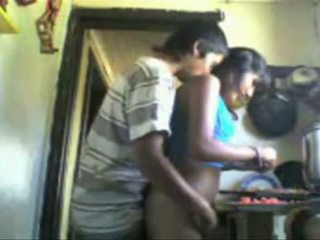 Indian Studens Backdoor Sex In The Kitchen