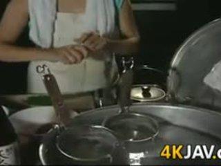 Reif japanisch mädchen getting gefickt