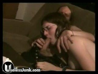 Hippy Chick Does Not Like Organic Sperm