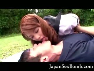 Japanese Coed Blowjob!