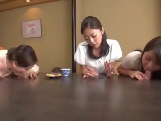 japanese thumbnail, cowgirl thumbnail, cum in mouth action