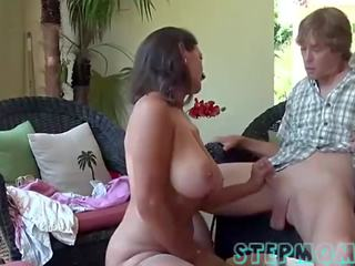 Busty stepmom affair with stepson-stepmom.live