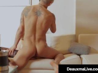 Busty Mature MILF Deauxma Fucks Hotel Brit Keni Styles