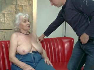 Grandma Norma Has Shaved Pussy and 2 Orgasms: Free Porn 06