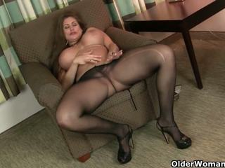 American MILFs Sheila and Lacy get Turned on by.