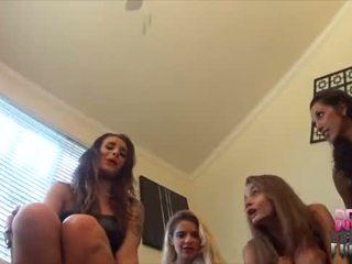voet fetish film, femdom, trampling thumbnail