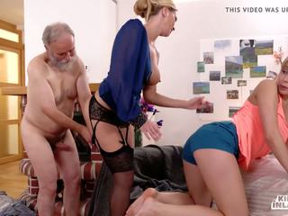 Kinky Inlaws - Sexy Russian Teen Sparta Fucks Old.