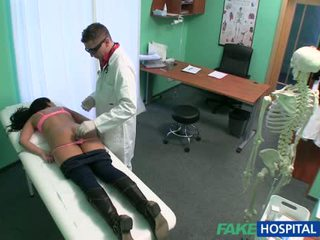 Patient banged with fake nympho doctor