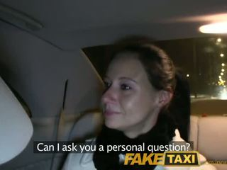 FakeTaxi Enza fucks me on camera to give to her ex - Porn Video 111