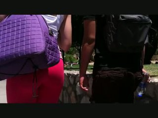Great Ass In Red Pants