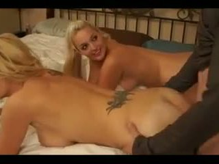 big boobs, 3some, big tits, doggy style