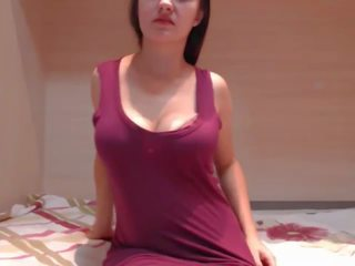 Super Sexy Long Haired Polish Striptease and...