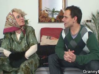 nominale grootmoeder neuken, hq oma actie, volwassen