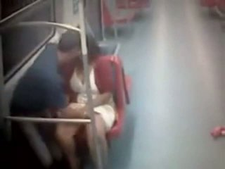 Couple Caught Fucking In The Metro