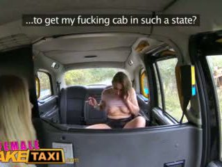 Femalefaketaxi Sexy Cabbies Get Hot and Horny