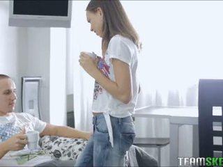 Perky Teen Goddess Fucks Her Boyfriend During Tea Time