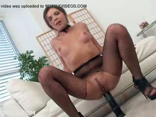 NO BOYS NEEDED! Henessy is back and ass banged by monster, 0% pussy, red prolapse, pink gape, ass fa