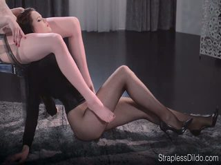 Sex Starved Doll is Strapon Fucked Hard by Maria Pie
