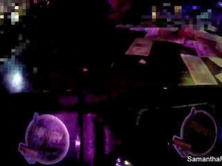 Behind the scenes w/ Sam at the strip club