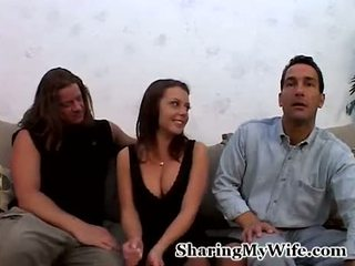 Penny's husband wants to watch her fucking