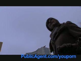 Publicagent 孕 angelina jolie 看 一 喜歡 takes 現金 為 性別 視頻